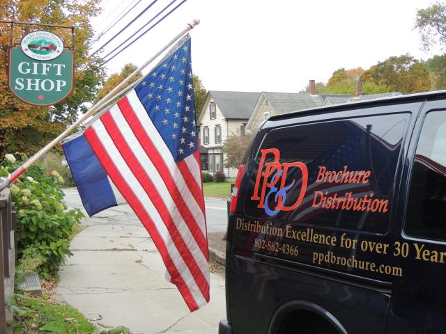 van-american-flag
